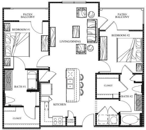 Floor Plan  B1c