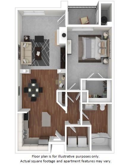 Integra floor plan at Windsor at Meadow Hills, Colorado, 80014