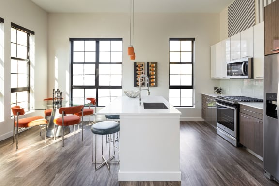 Spacious Open-Concept Floor Plans at Edison on the Charles by Windsor, Waltham, MA