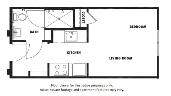 Floor Plan  S1 floor plan at Windsor Metro West, TX, 75024