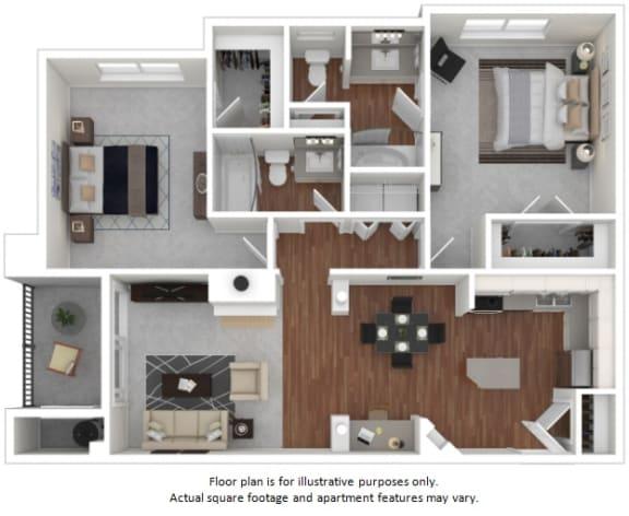 Floor Plan  Sandersonia floor plan at Windsor at Meadow Hills, CO, 80014