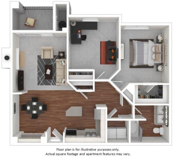 Floor Plan  Trillium floor plan at Windsor at Meadow Hills, Aurora, Colorado