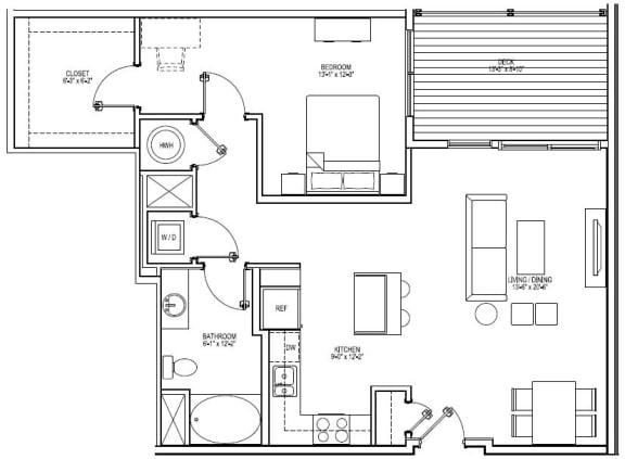 Floor Plan  A9B