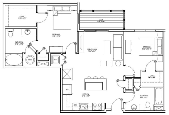 Floor Plan  B4H