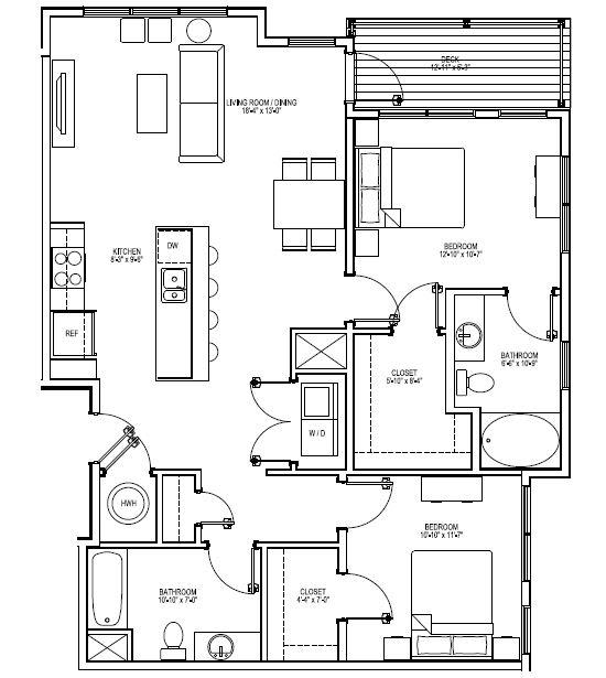 Floor Plan  B6A