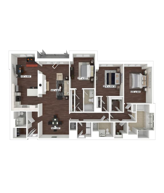 Floor Plan  PH10