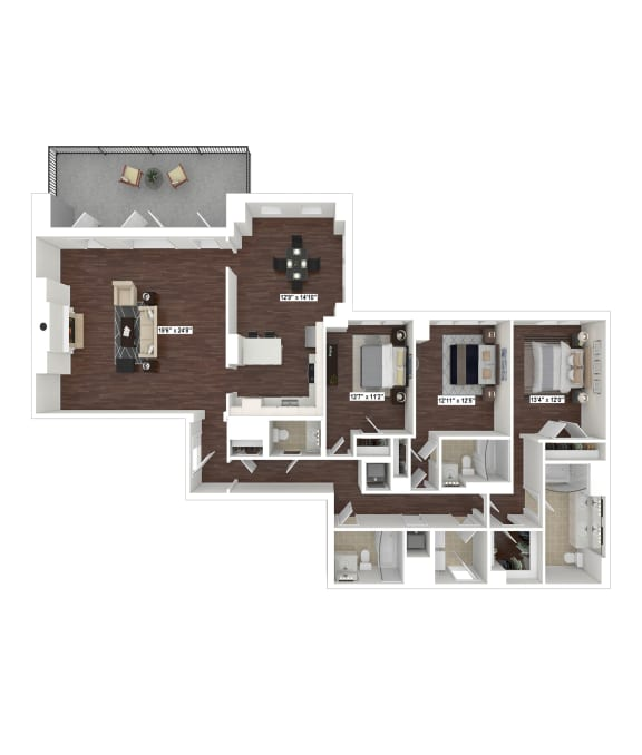 Floor Plan  PH1