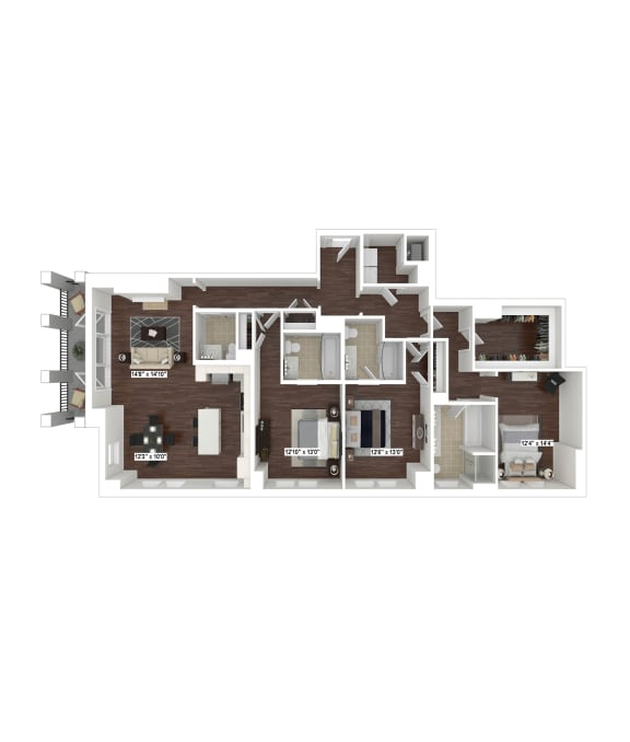 Floor Plan  PH5