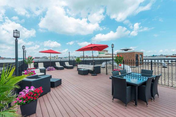 Miramar Apartments Rooftop Area DC