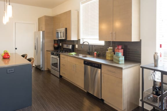 Stainless Steel Appliances at The Residences at Park Place, Kansas, 66211