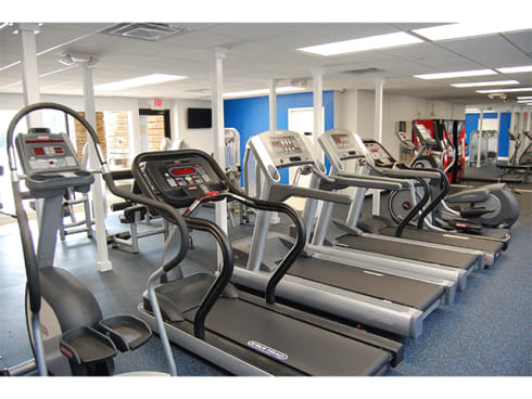 Cardio Machines In Gym at The Villas at Northstar, Michigan, 48105