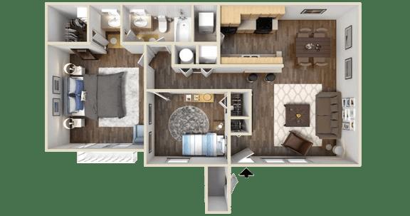 Floor Plan  The Brookline