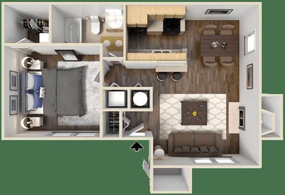 Floor Plan  The Chelsea