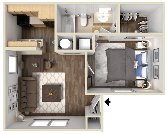 Floor Plan  The Norwood