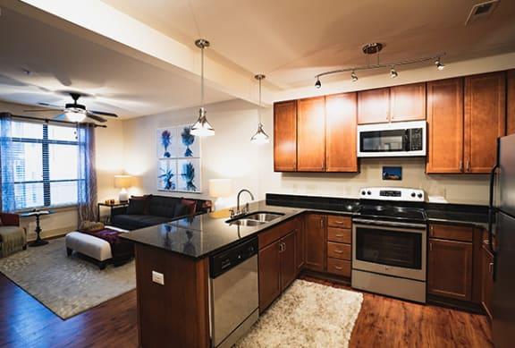 Spacious Kitchen with Breakfast Bar Park & Kingston, Charlotte, NC 28203