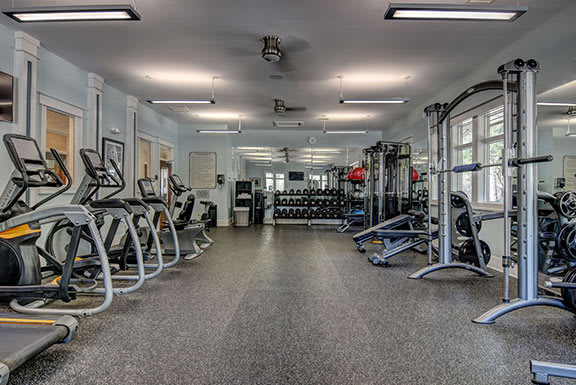 Two Level Fitness Center at The Reserve at Mayfaire, Wilmington, NC