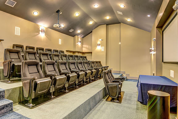 Private Movie Theater With Comfy Sitting at The Reserve at Mayfaire, Wilmington, North Carolina
