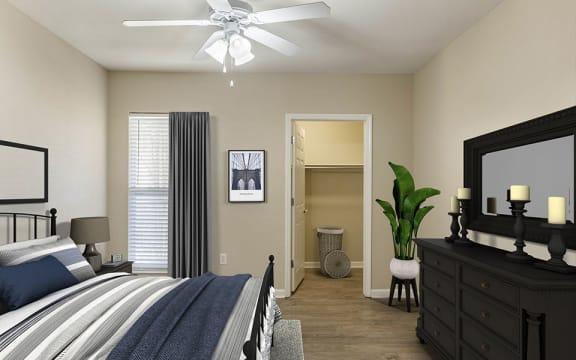 Pinnacle Master Bedroom with Walk-in Closet