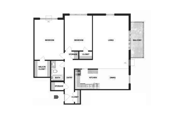Floor Plan  Villages on McKnight Maplewood Floor Plan
