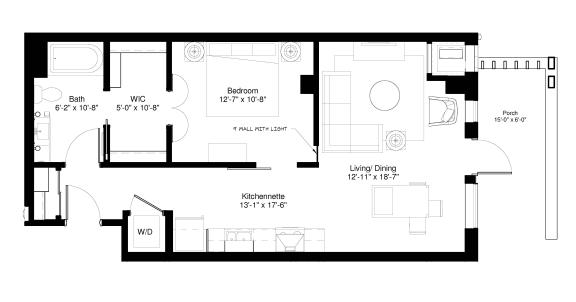 Floor Plan  Black Willow