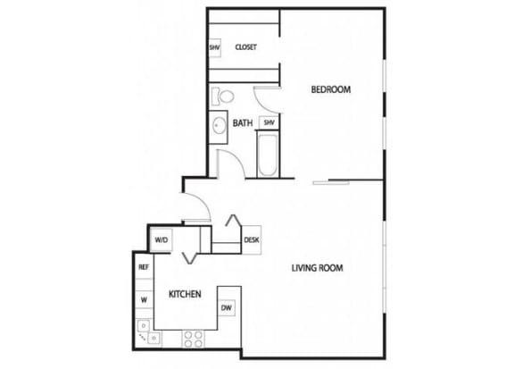 Lowertown Lofts in St. Paul, MN 1 Bedroom 1 Bath Apartment