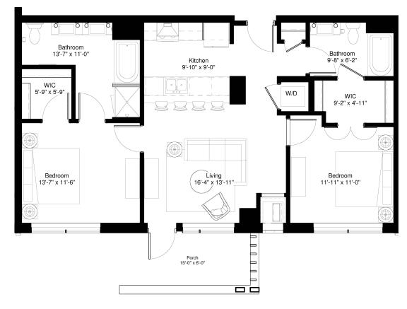 Floor Plan  White Pine