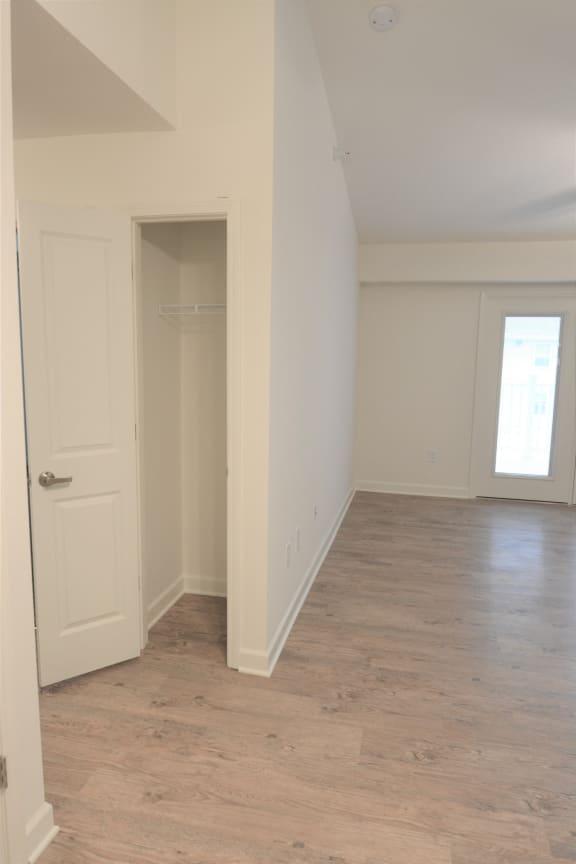 Wood Floor Living Room at Shenandoah Properties, Lafayette, IN, 47905