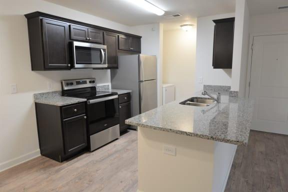 WYANDOTTE KITCHEN at Shenandoah apartments