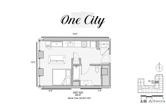 One City Accessible Studio