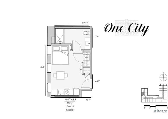 One City A8B