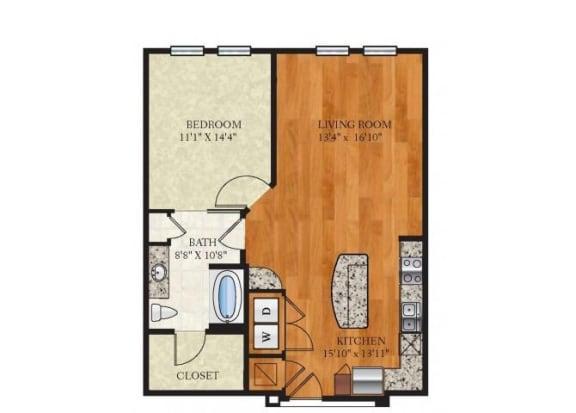 Floor Plan  A3 ROWENA 3
