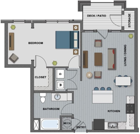 Fuller Floor Plan at The Edison at Riverwood, Hermitage, Tennessee