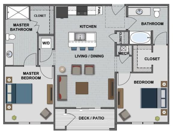 Hopper Floor Plan at The Edison at Bridlespur, Kansas City, Missouri