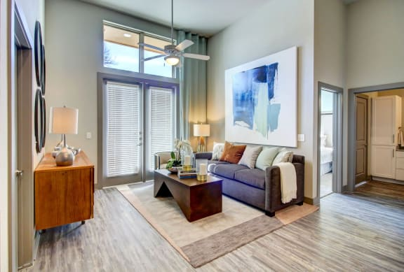 Large Windows & High Ceilings