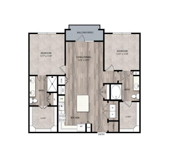 Floor Plan  C2.2