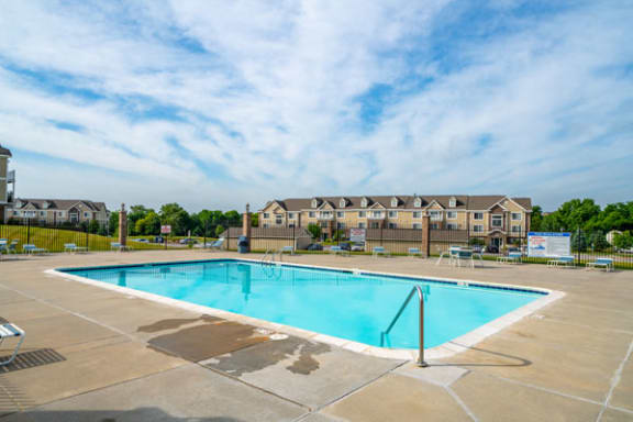 Outdoor Pool with Wi-Fi at Colonial Pointe at Fairview Apartments in Bellevue, NE