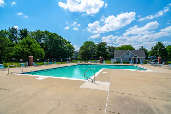Large Pool with Wi-Fi at Indian Lakes Apartments, Mishawaka, Indiana 46545