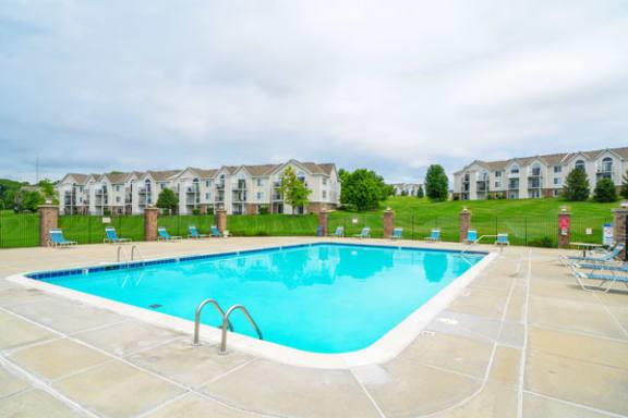 Sparkling Pool with Wi-Fi at West Hampton Park Apartment Homes, Nebraska 68022