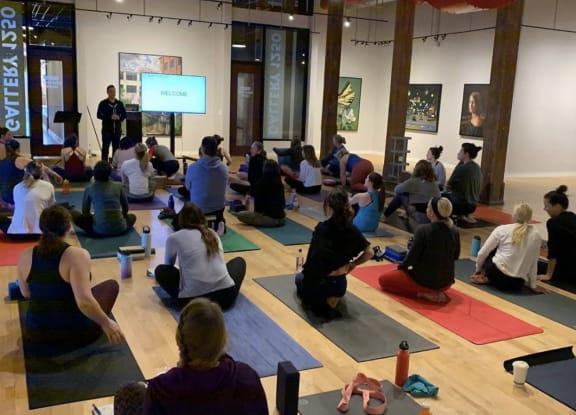 yoga classes indoors