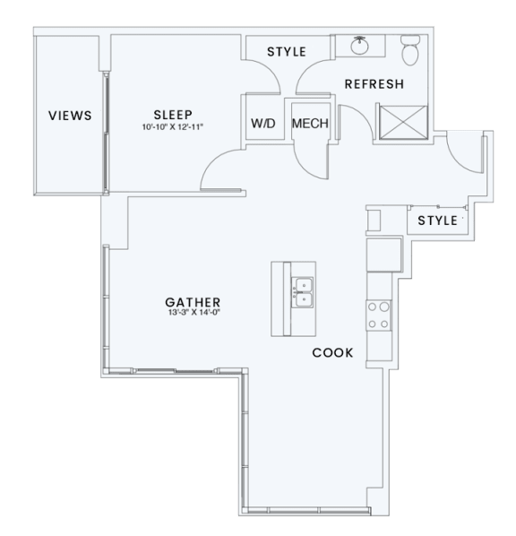 Floor Plan  Skyhouse plan A10