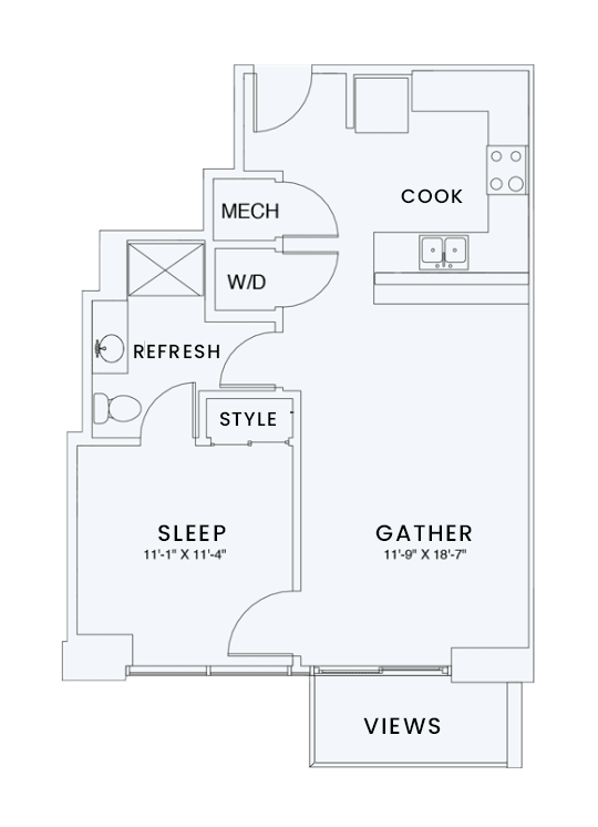 Floor Plan  Skyhouse plan A3