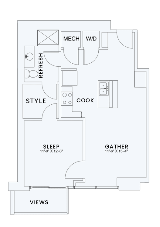 Floor Plan  Skyhouse plan A7