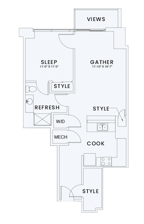 Floor Plan  Skyhouse plan A5