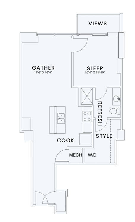 Floor Plan  Skyhouse plan A6