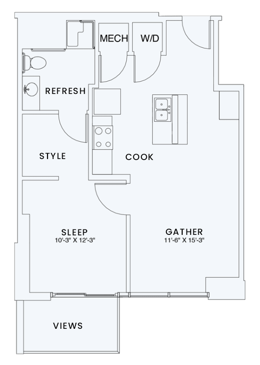 Floor Plan  Skyhouse plan A4