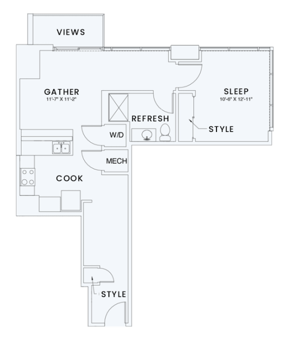 Floor Plan  Skyhouse plan A9
