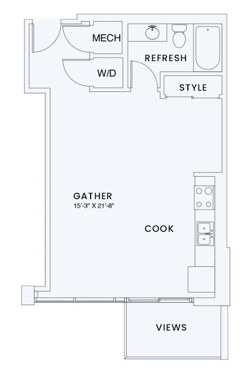 Floor Plan  Skyhouse plan S2