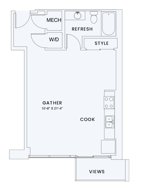 Floor Plan  Skyhouse plan S4