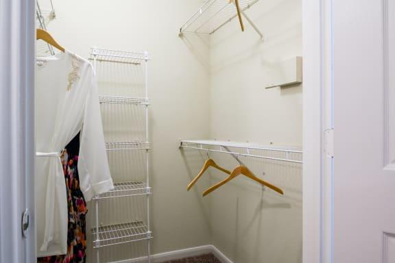 Oversized Walk-In Closets