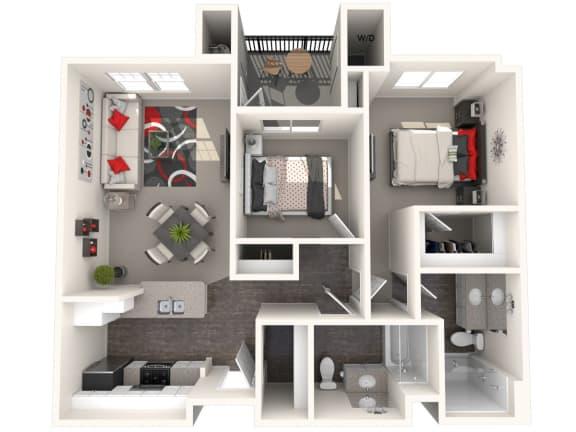 Floor Plan  Imperial Floor Plan at 55+ FountainGlen Valencia, Valencia, CA, 91354